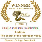 Aedipar ® Best Shorts Competition - Winner