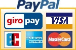 Pay safe with PayPal